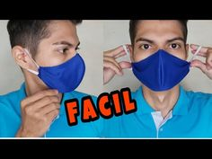 How to make a face mask - Corona Virus Diy Sewing Projects, Sewing Hacks, Sewing Crafts, Diy Mask, Diy Face Mask, Face Masks, Sewing Clothes, Diy Clothes, Crochet Mask