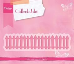 Marianne Design - Die - Collectables - White Picked Fence
