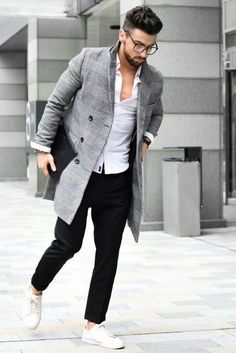 fashion hacks to look slimmer  #mens #fashion #style
