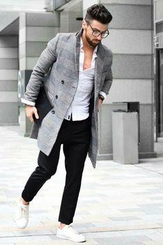 fashion hacks to look slimmer #mens #fashion #style