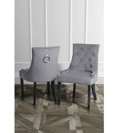 Torino Dining Chair With Back Ring   Smoke