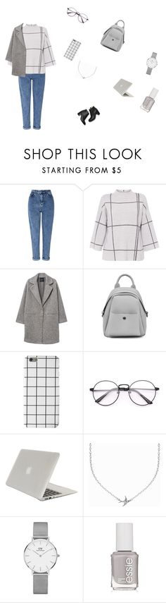 """Sans titre #27"" by ikramelove ❤ liked on Polyvore featuring Miss Selfridge, L.K.Bennett, MANGO, Tucano, Minnie Grace, Daniel Wellington and Essie"