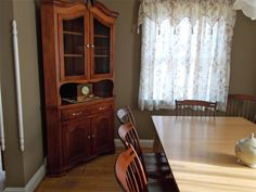 The hutch and chairs are just beautiful. Garry Blevin's men were polite, on time and careful with setting them up. My family is going to enjoy this well made furniture through the generations and that is exactly what I wanted. Thank you so much, Bettina Power  Bettina P. PA ,   1/22/2013