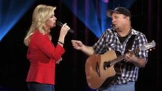 "Garth Brooks and Trisha Yearwood ""The Call""   this song. ........"