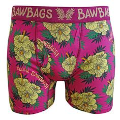 e2d21fad2a Bawbags Underwear 3 Pack Aloha Underwear
