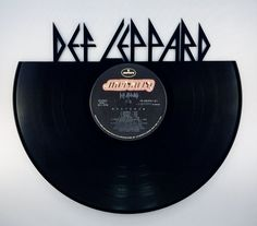 Recycled Vinyl Record DEF LEPPARD Wall Art