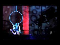 Modern Aerial Hoop Dancer - Beautiful control of her Body - YouTube