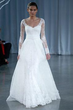monique Lhullier -winter wedding dress!