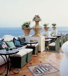 Le Sirenuse Hotel, Positano, Italy.
