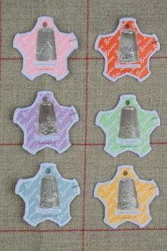 Dieppe Thread Cards - Pictures of Thimbles