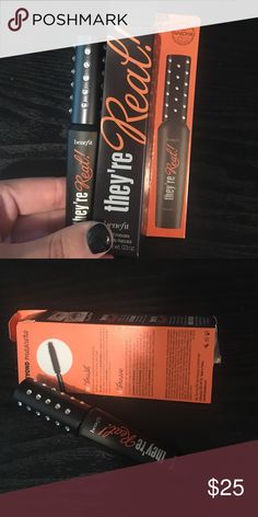 51d82d104c8 Benefit cosmetics LE they're real mascara Bnib Benefit cosmetics Swarovski  crystal LE they'