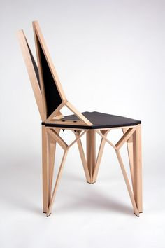 AlterEgo Chair 2 Aggressive Yet Sophisticated Lines Defining Alterego Chair by Albert Puig