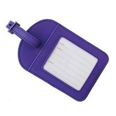 Violet Luggage Tag-The Intrinsic Way