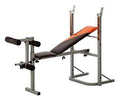 cool V-Fit STB-09-2 - Banco plegable para levantamiento de pesas