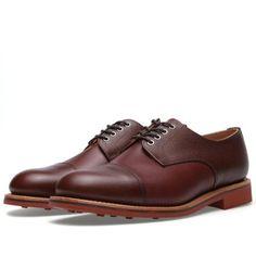 b6da7b2ea8a Oliver Spencer Grain Derby Shoe (Tan Brown) (£289.00) - Svpply