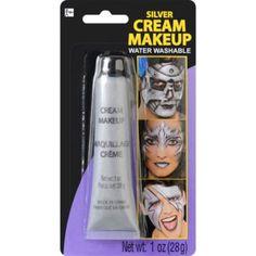 Cream Metallic Silver Makeup - Party City