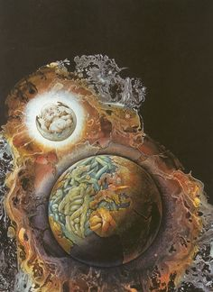 Retro Sci-Fi art (Day Million) by Patrick Woodroffe.