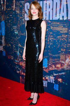 Emma Stone in Dior