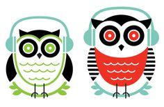 Owl Illustrations: Designer Albert Campos