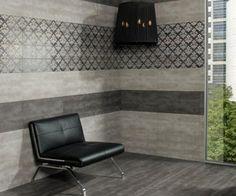 Płytka gresowa Halcon Habitat Gris 60x60 Tile Floor, Lounge, Flooring, Traditional, Chair, Furniture, Home Decor, Gray, Bath