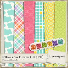 Free Follow Your Dreams Paper Pack | Eyeinspire