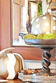 DIY stenciled pumpkins @Sharon Macdonald murphy Hospitality Rhoda