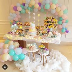 Linda festa no tema Chuva de Amor!❤ Credito: @lereve_producoes #Festainfantil #FestaChuvadeAmor #ChuvadeAmor #Chuva #deAmor #FestaMenina