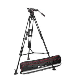 The Manfrotto Tripod with Nitrotech Fluid Video Head comes with a full Manfrotto Australia warranty. Camera Tripod, Video Camera, Carbon Fiber, Twins, 28th October, Middle, Products, Gemini, Twin