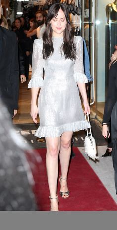 Queen always slay! Dakota leaving the Intimissimi Boutique Opening in NYC (Oct. 18th) Cr. @DakotaJLife Twitter