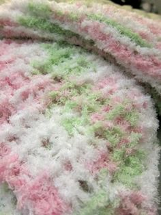 Knitted baby blanket by LovelyMiss