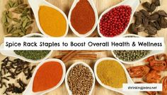 Spices to Boost Health and Wellness