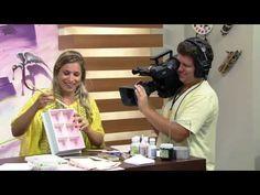 Caixa de chá Shabby chic Camila Claro Mulher com 24 02 2016 - YouTube