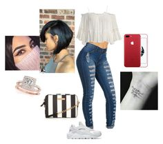 """""""Untitled #147"""" by gummyzz ❤ liked on Polyvore featuring beauty, NIKE, Sans Souci and Allurez"""