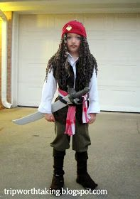 trip worth taking blog diy captain jack sparrow costume halloween - Jack Sparrow Halloween Costumes