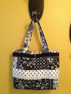 Patterned Quilted Purse by HelensAdorables on Etsy, $30.00