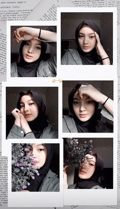 Studio Photography Poses, Portrait Photography Poses, Photography Poses Women, Creative Instagram Stories, Instagram Story Ideas, Polaroid Picture Frame, Hijab Style Tutorial, Instagram Frame Template, Photo Collage Template