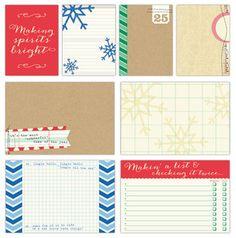 Christmas > Noel Large & Medium Journaling Tags - Elle's Studio: A Cherry On Top