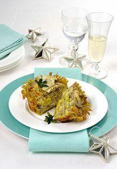 Cestini di tagliatelle con carciofi e gorgonzola Pochi ingredienti, tutti freschi, che si amalgamano in una ricetta di un goloso primo piatt...
