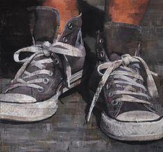 francois bard paint | ABOVE Sans Titre , 130x130cm, oil on canvas