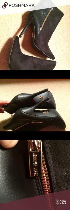 Jenifer Lopez Black Suede Stiletto Heeled Boots s6 Excellent condition. Sz6. Black. Ankle Boots stiletto Heels Jennifer Lopez Shoes Ankle Boots & Booties