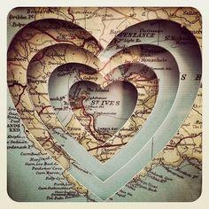 Heart map ♥