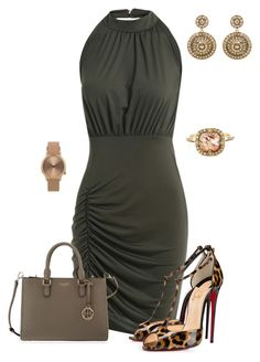 """Untitled #527"" by angela-vitello on Polyvore featuring Henri Bendel, Topshop, Oscar de la Renta and Cathy Waterman"
