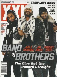 XXL magazine Jim Jones Juelz Santana Freekey Zekey The Roc Bad Boy Cash Money