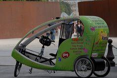 paris bicycle taxi