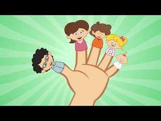 Fingers Family -comptine anglaise populaire - apprendre l'anglais en chantant avec les P'tits z'amis - YouTube
