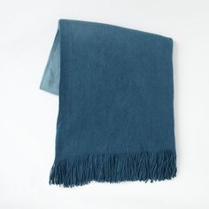 56 width, $35  NOTE LIGHTER COLOR  (Double Sided) Softest Throw - Ombre | West Elm