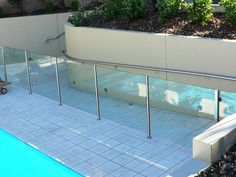 Stainless steel Viewmaster pool fencing, Elite Balustrades