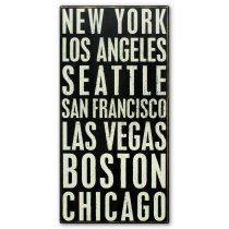 30 in. New York/Boston Box Sign----I WANT!!!!!!!!!