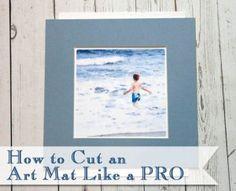 How to Cut an Art Mat Like a Pro  | Pretty Handy Girl