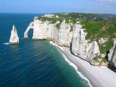 Les falaise d'Etretat (Normandie)